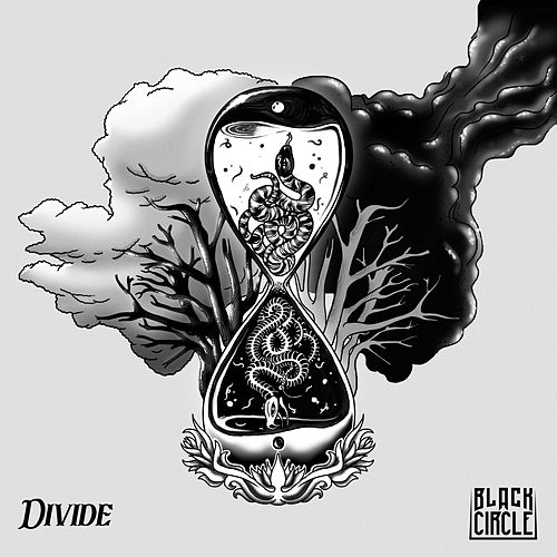 Divide by Black Circle