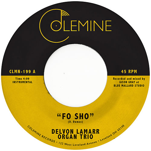 Fo Sho de Delvon Lamarr Organ Trio