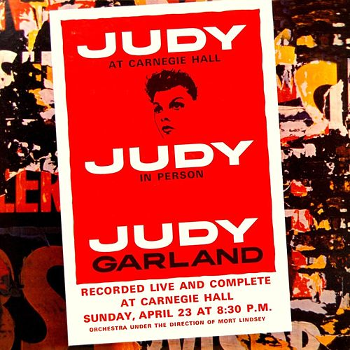 Judy At Carnegie Hall / Judy In Person by Judy Garland