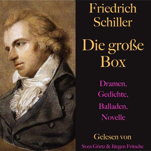 Friedrich Schiller: Die große Box (Dramen, Gedichte, Balladen, Novellen) von Friedrich Schiller