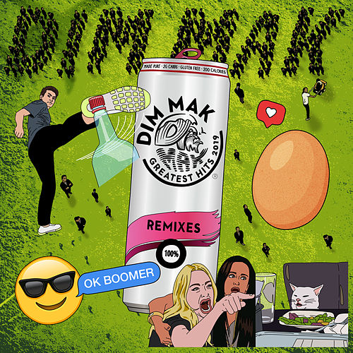 Dim Mak Greatest Hits 2019: Remixes von Various Artists