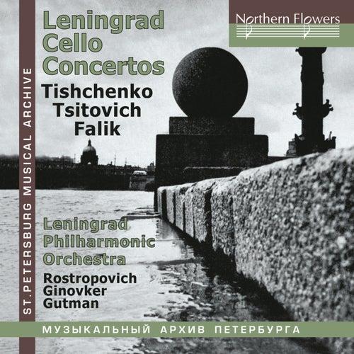 Leningrad Cello Concertos de Mstislav Rostropovich