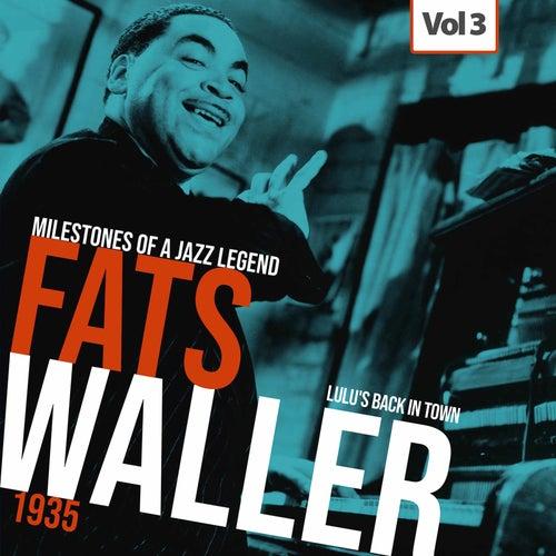 Milestones of a Jazz Legend - Fats Waller, Vol. 3 von Fats Waller