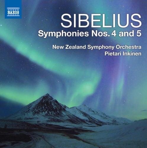 Sibelius: Symphonies Nos. 4 & 5 von Pietari Inkinen