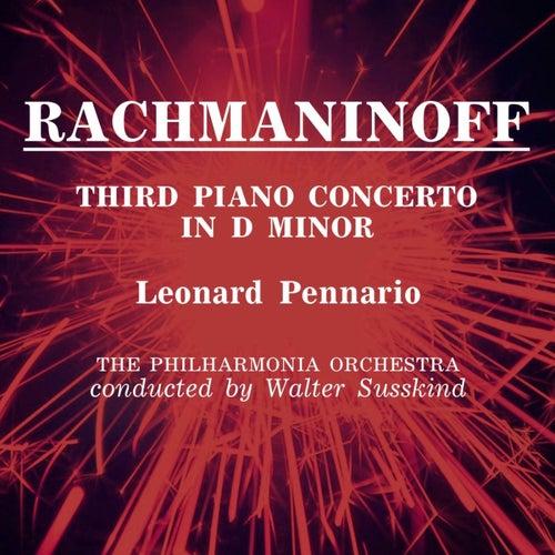 Rachmaninoff Third Piano Concerto de Leonard Pennario
