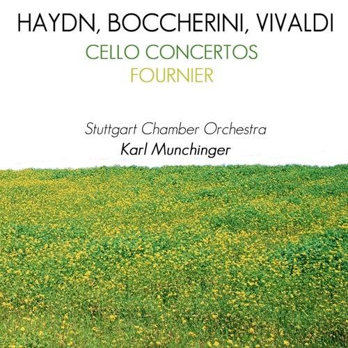 Haydn, Boccherini & Vivaldi Cello Concertos by Pierre Fournier