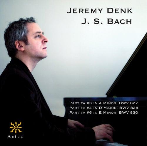 Bach: Partitas Nos. 3, 4 & 6 de Jeremy Denk