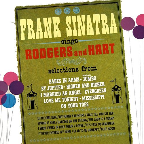Frank Sinatra Sings Rodgers & Hart by Frank Sinatra