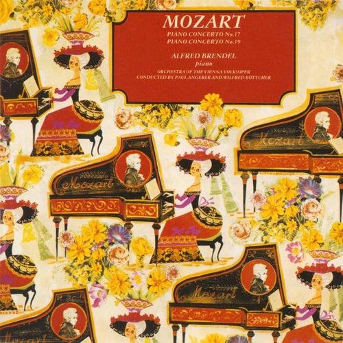 Mozart: Piano Concertos No.17 & 19 von Alfred Brendel
