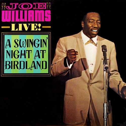 Joe Williams - Live! de Joe Williams