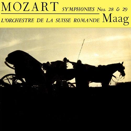 Mozart Symphonies No 28 & 29 de L'Orchestre de la Suisse Romande