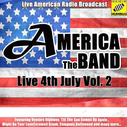 America Live 4th July Vol. 2 (Live) de America