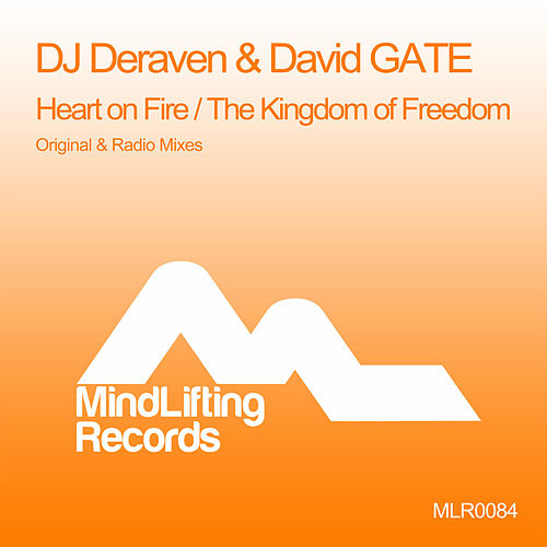 Heart On Fire / The Kingdom Of Freedom de DJ Deraven