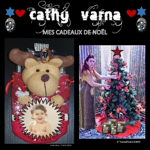 Mes cadeaux de noël de Cathy Varna
