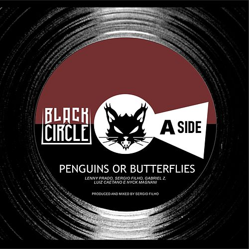 Penguins or Butterflies by Black Circle