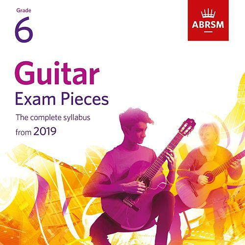 Guitar Exam Pieces from 2019, ABRSM Grade 6 von Miloš Karadaglić