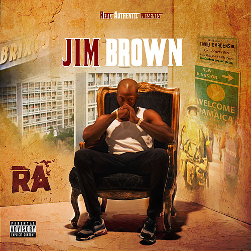 JIM BROWN by RA