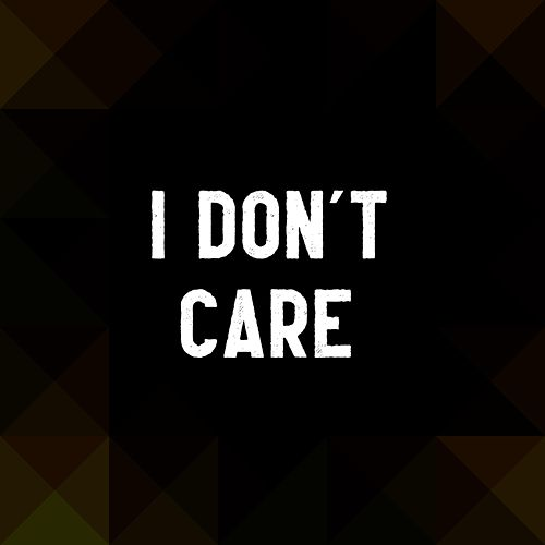 I Don't Care von IQ