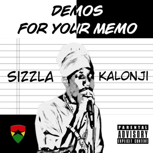 Sizzla Kalonji: Demos for Your Memo by Sizzla