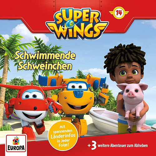 014/Schwimmende Schweinchen von Super Wings