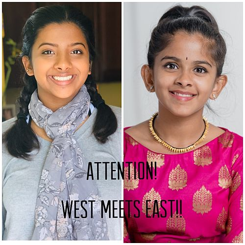 Attention! West Meets East! (Fusion Cover) by Uthara Unnikrishnan