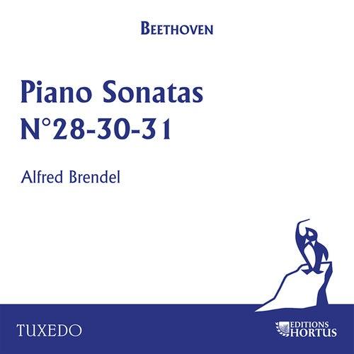 Beethoven: Piano Sonatas No. 28, No. 30, No. 31 von Alfred Brendel