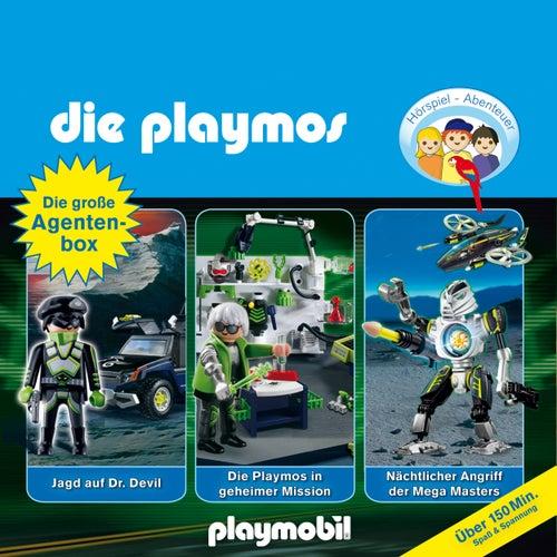 Die große Agenten-Box, Folgen 19, 23, 31 (Das Original Playmobil Hörspiel) von Die Playmos
