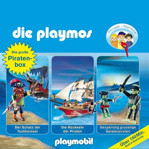 Die große Piraten-Box, Folgen 1, 16, 22 (Das Original Playmobil Hörspiel) von Die Playmos