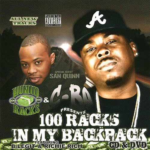 100 Racks In My Backpack von C-BO