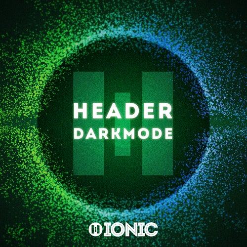 Darkmode von Header