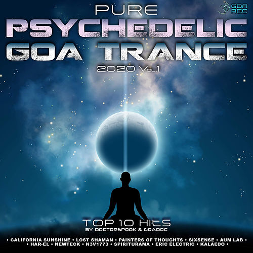 Pure Psychedelic Goa Trance: 2020 Top 10 Hits, Vol. 1 by Dr. Spook