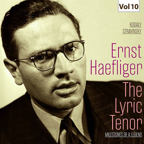 Milestones of a Legend: The Lyric Tenor,  Vol. 10 by Ferenc Fricsay