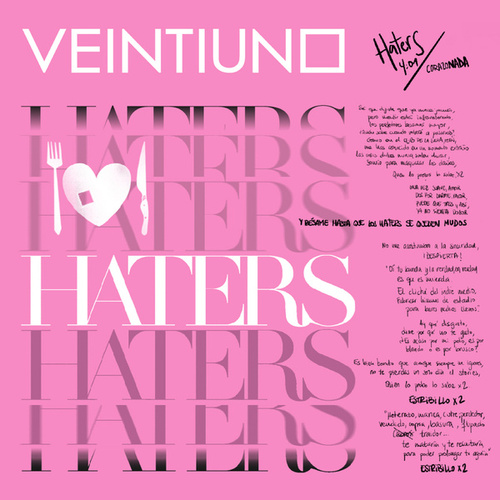 Haters by Veintiuno