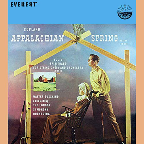 Copland: Appalachian Spring / Gould: Spirituals for String Choir and Orchestra de London Symphony Orchestra