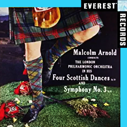 Arnold: 4 Scottish Dances & Symphony No. 3 de London Philharmonic Orchestra