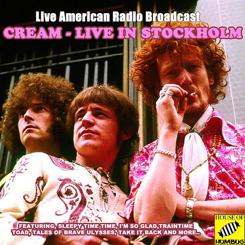 Cream Live in Stockholm (Live) de Cream