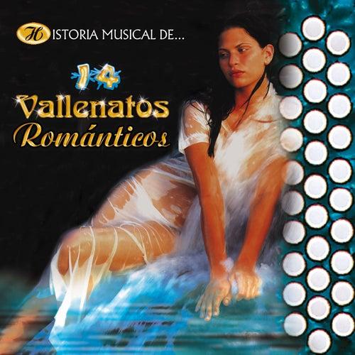Historia Musical de 14 Vallenatos Románticos de German Garcia