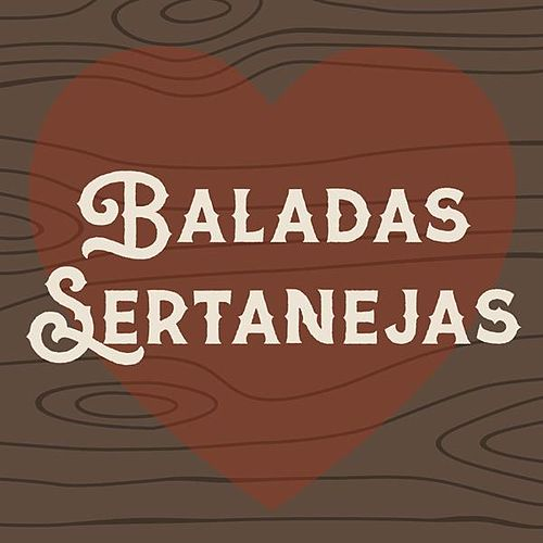 Baladas sertanejas de Various Artists