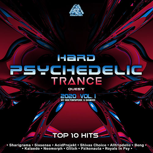 Hard Psychedelic Trance Quest: 2020 Top 10 Hits by DoctorSpook & GoaDoc, Vol. 1 by Dr. Spook