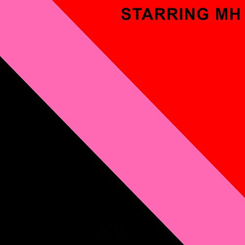 Black Pink and Red by Starring MH