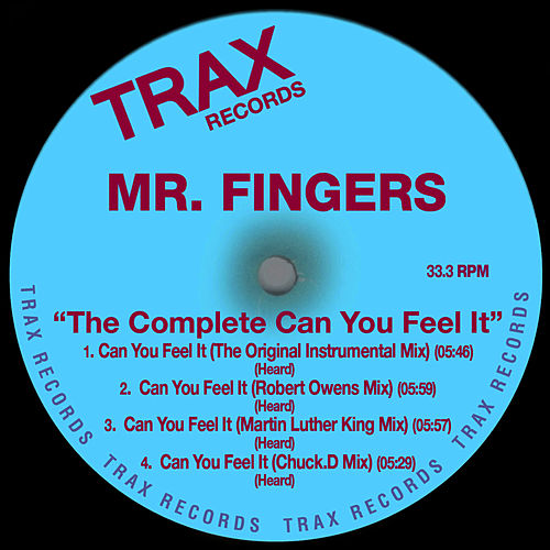 The Complete 'Can You Feel It' de Mr. Fingers