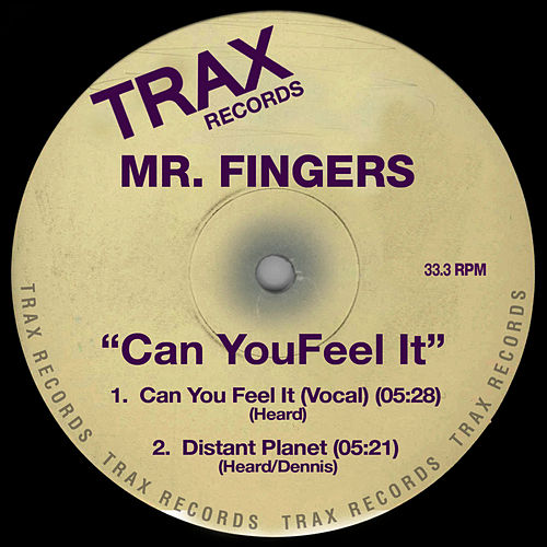 Can You Feel It de Mr. Fingers