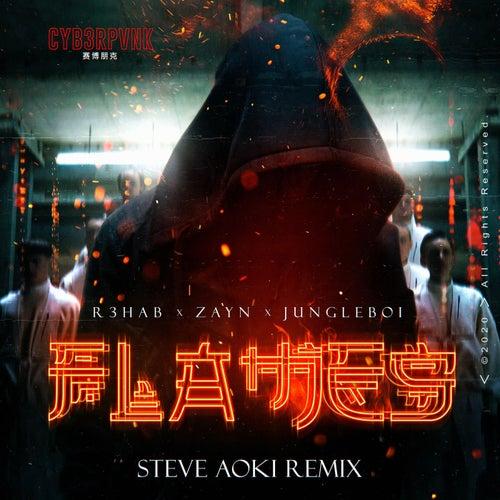 Flames (Steve Aoki Remix) de R3HAB