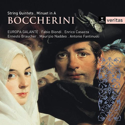 Boccherini: String Quintets de Europa Galante