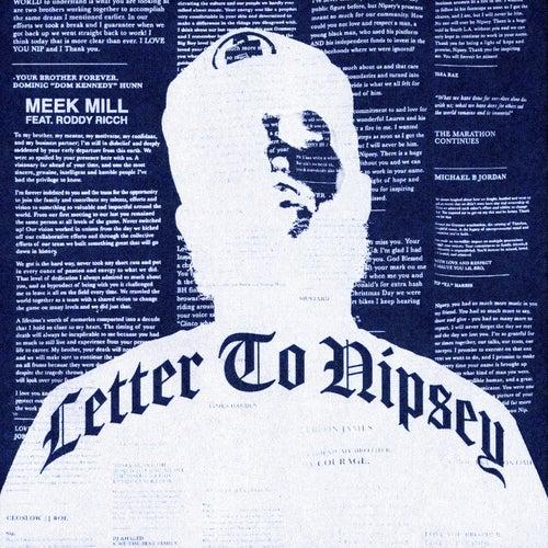 Letter To Nipsey (feat. Roddy Ricch) de Meek Mill