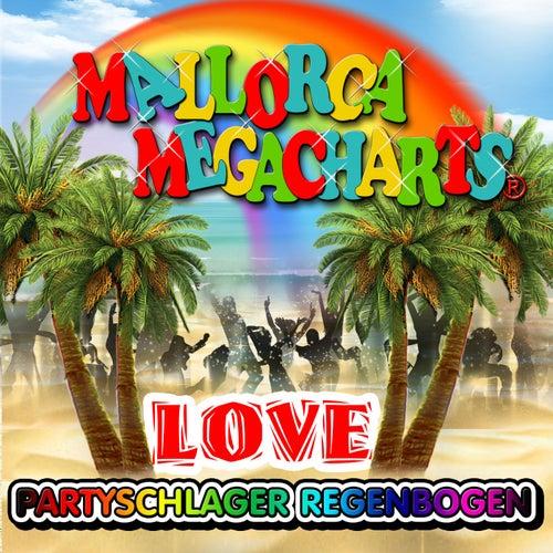 Mallorca Megacharts - Partyschlager Regenbogen Love de Various Artists