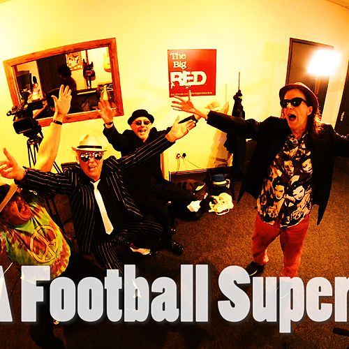 Football Superman by Johnny Dysfunctional