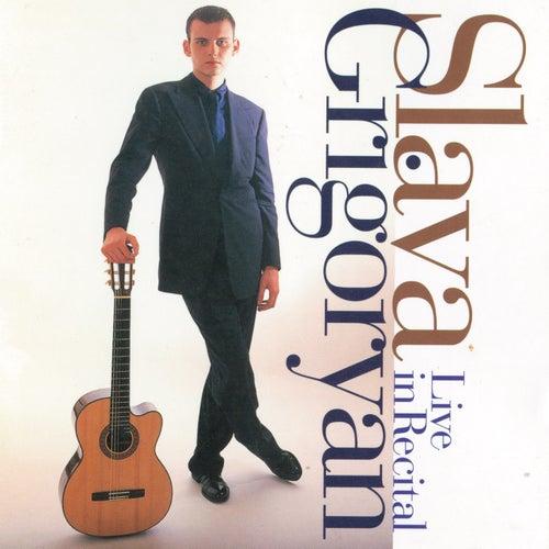 Live In Recital de Slava Grigoryan