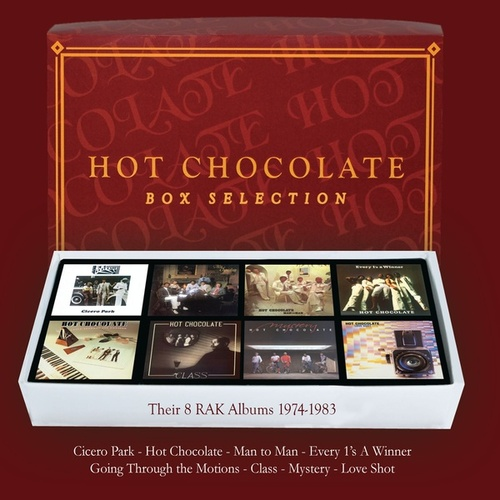Box Selection (Their 8 RAK albums 1974-1983) de Hot Chocolate