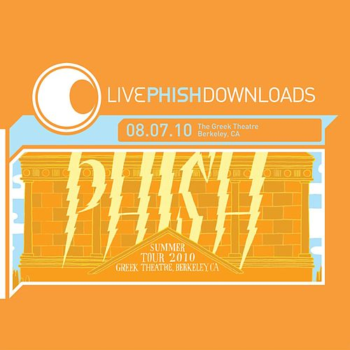 Live Phish Downloads: 08.07.10 Greek Theatre, Berkeley, CA de Phish